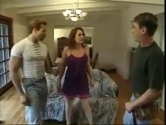 Milf Seduces 2 Bi Studs