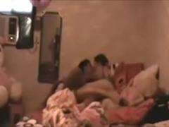 Amateur interracial couple sex tape