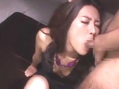 Amazing Japanese chick Julia Nanase in Horny Threesomes, Blowjob/Fera JAV scene