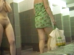Hot Russian Shower Room Voyeur Video  60