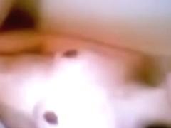 Hirsute ex-gf bathtub masturbation