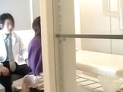 Japanese slut goes to the clinic and is fucked very rough