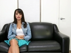 Provocative Stacey Foxxx gets naked and naughty