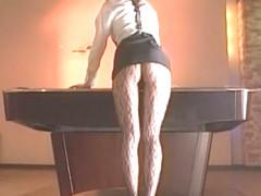Incredible Japanese slut in Crazy Stockings/Pansuto, Masturbation/Onanii JAV video