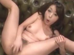 Hottest Japanese chick Ami Morikawa, Yuka Osawa, Marika 2 in Incredible Solo Girl, Dildos/Toys JAV.