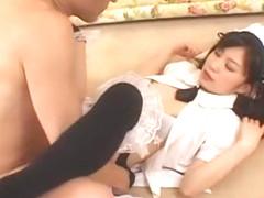 Hottest Japanese whore Lemon Mizutama in Exotic Fingering, Hairy JAV scene