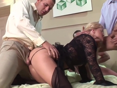 Exotic pornstar Louise Black in fabulous anal, creampie xxx movie
