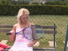 Horny pornstar Katy Rose in fabulous outdoor, blonde sex scene