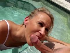 Exotic pornstar in Horny Blonde, Hardcore sex clip