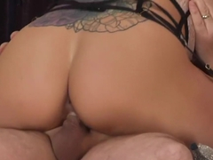 Fabulous pornstar Holly Hearts in crazy blonde, bdsm adult clip
