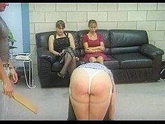 Spanked over box