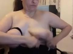 mature tits bondage