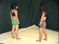 Me and my GF fight and go lesbian in homemade video