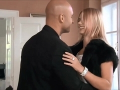 Young blonde fucked on the table
