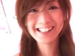 Hottest Japanese chick Manami Amamiya in Incredible JAV scene