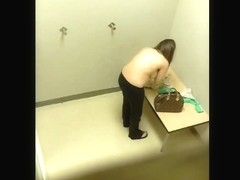 Tempting changing room spy cam video