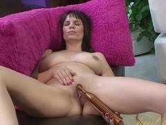 Hottest pornstar Kelly Capone in Crazy Brunette, Masturbation xxx movie