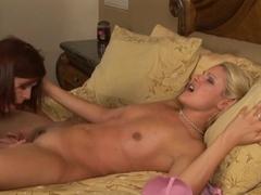 Exotic pornstars Samantha Ryan, Magdalene St. Michaels in Hottest Medium Tits, MILF sex video