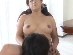 Horny Japanese chick Aya Mineko in Amazing Big Tits, MILFs JAV movie