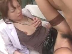 Crazy Japanese slut Asahi Miura in Amazing Fingering, Small Tits JAV clip