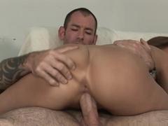 Fabulous pornstar in Incredible Redhead, Medium Tits sex movie