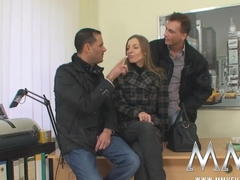 Best pornstar Morgan Moon in Hottest Threesomes adult scene