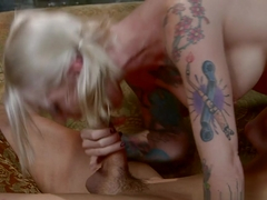 Horny pornstars Kleio Valentien, Will Powers in Hottest Emo, Blonde xxx clip