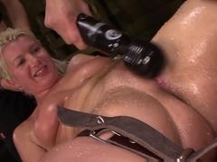 Exotic pornstars Laela Pryce, Abbi Roads in Horny Hardcore, BDSM sex video
