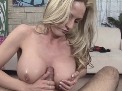 Exotic pornstars Johnny Fender, Sindy Lange in Hottest Blonde, MILF adult clip