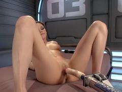 Best fetish xxx movie with horny pornstar Brianna Brown from Fuckingmachines