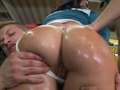 Horny pornstar in Crazy Facial, Group sex xxx clip