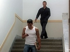 BoundGods : The Creepy Janitor and The Studly Student