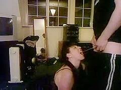 Giving Sasha a mouthful porno fetish