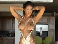 Nadia Jay in Tiny Ebony Pussy - Exotic4k Video