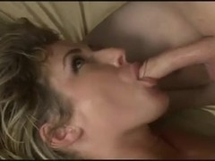 Hot tranny cums after barebacking with girl