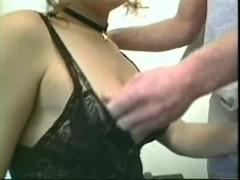 Vintage Tgirl in stockings gets analed in bedroom