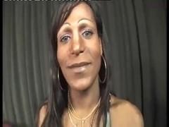 Ebony Shemale Sticking Big Rod In White Thug