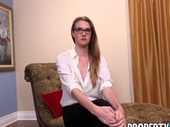 PropertySex Horny Agent Ashley Lane Nails Lucky Millionaire