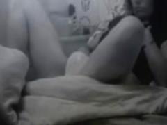 Wife wanks in panties - hidden