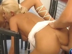 Tom gets to fucked both Szandi and Liona in their pussyholes