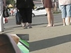 Tasty upskirt gazoo filmed for u