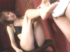 Hottest Japanese slut Arisa Kanno in Fabulous POV, Foot Job/Ashifechi JAV movie