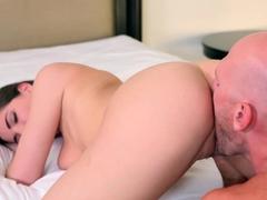 Amazing pornstar Molly Jane in Crazy Brunette, Cunnilingus porn clip