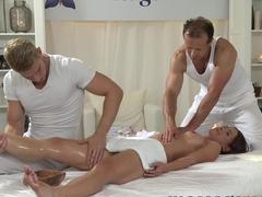 Horny pornstar in Incredible College, Massage sex scene
