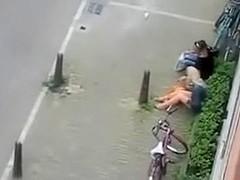Quik fuck in public