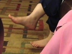 Pakistani Sexy MILF Salwar High Feet Showing