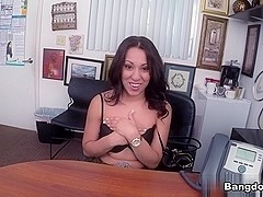 Sophia Torres in Breaking in Sophia to the Biz!  Video