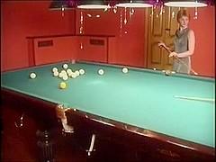 two teenage Lesbians sex games at pool club