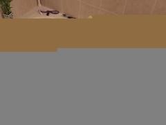 Vibrator Dildo Masturbation In Bathtub