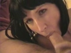 Beautiful Raven Haired Dick Licker